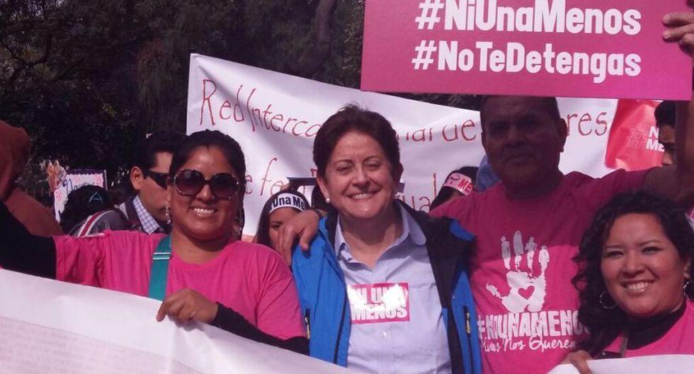 #NiUnaMenos: así se desarrolló la marcha en Lima [FOTOS] - 9