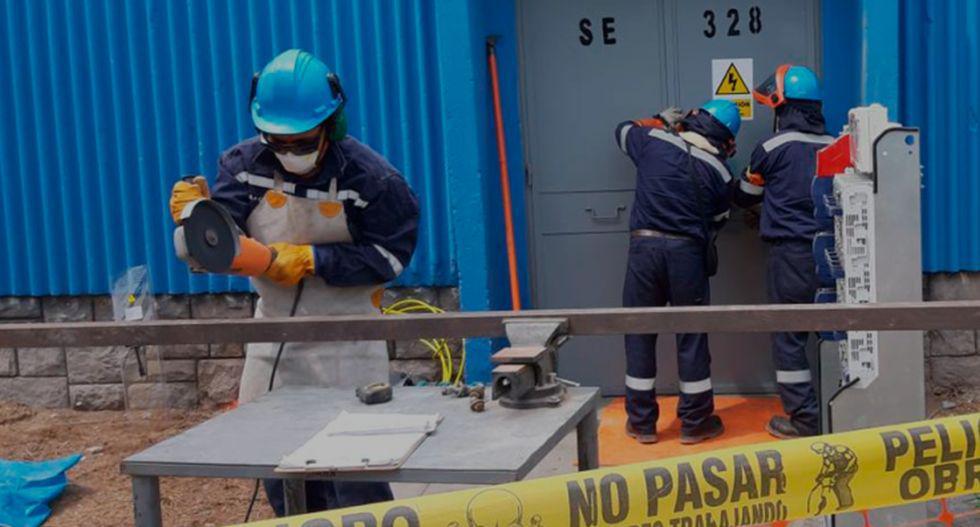 La compañía eléctrica ENEL informó que la suspensión obedece a obras de mantenimiento preventivo a las redes eléctricas. | Foto: GEC
