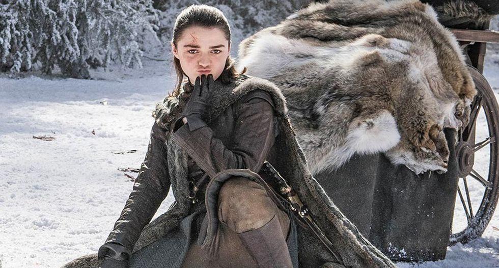 """""""Game of Thrones"""". Nuevas fotos del detrás de cámaras de la última temporada. Foto: HBO."""