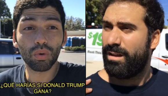Facebook: ¿te irías de Estados Unidos si gana Trump? [VIDEO]