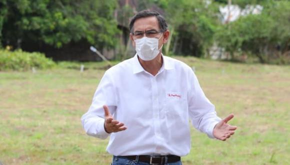 """""""Vizcarra tiene que saber que en estas condiciones el silencio juega en su contra y suma más opacidad a la transparencia que se jacta de practicar"""".(Foto: Presidencia)"""