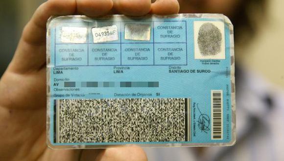 Reniec: el 97% de peruanos ya cuenta con DNI