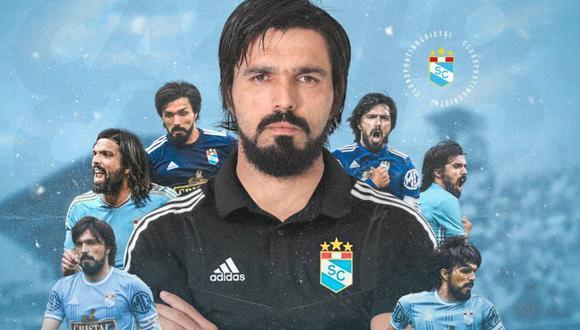 Sporting Cristal anunció el nuevo rol de Jorge Cazulo. (Foto: Prensa SC)
