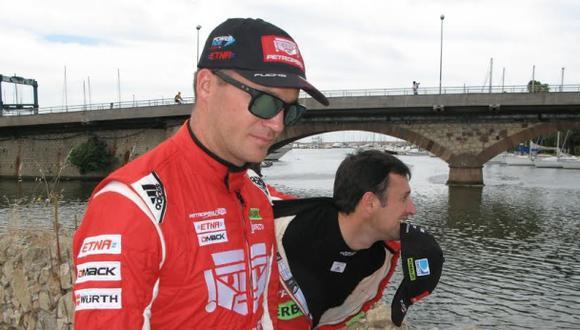 Fuchs exteriorizó su bronca al quedar fuera del Rally de Italia