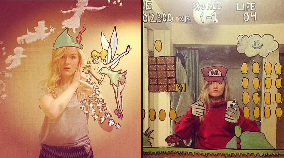 ¿Decorarías el espejo de tu baño con estos divertidos dibujos? - 1