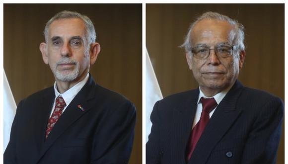 Pedro Francke y Anibal Torres asumieron los ministerios de Economía y Justicia, respectivamente.