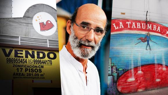 """Fernando Zevallos, director y fundador de La Tarumba, habla con El Comercio sobre el letrero de """"se vende"""" en uno de sus locales que tanto ha dado que hablar en redes sociales. Fotos: Archivo de El Comercio."""