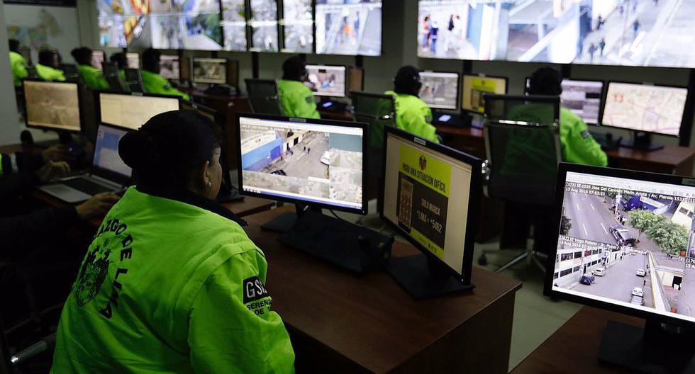 Cuatro de cada 10 cámaras de seguridad en el Cercado de Lima no funcionan. Hace un año y medio comenzó el proceso para darle mantenimiento al sistema, pero hasta la fecha siguen inoperativas.