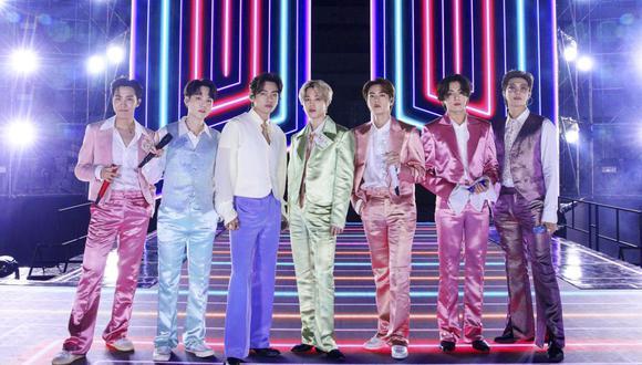 BTS contó a sus seguidoras del ARMY cómo pasarán los últimos días del 2020. (Foto: American Broadcasting Companies, Inc. / AFP)