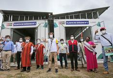 Junín: empieza a operar segunda planta de oxígeno medicinal en Pichanaqui