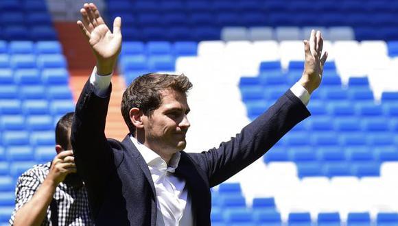 Iker Casillas jugó en Real Madrid hasta 2015 y luego se fue a Porto. (Foto: AFP)