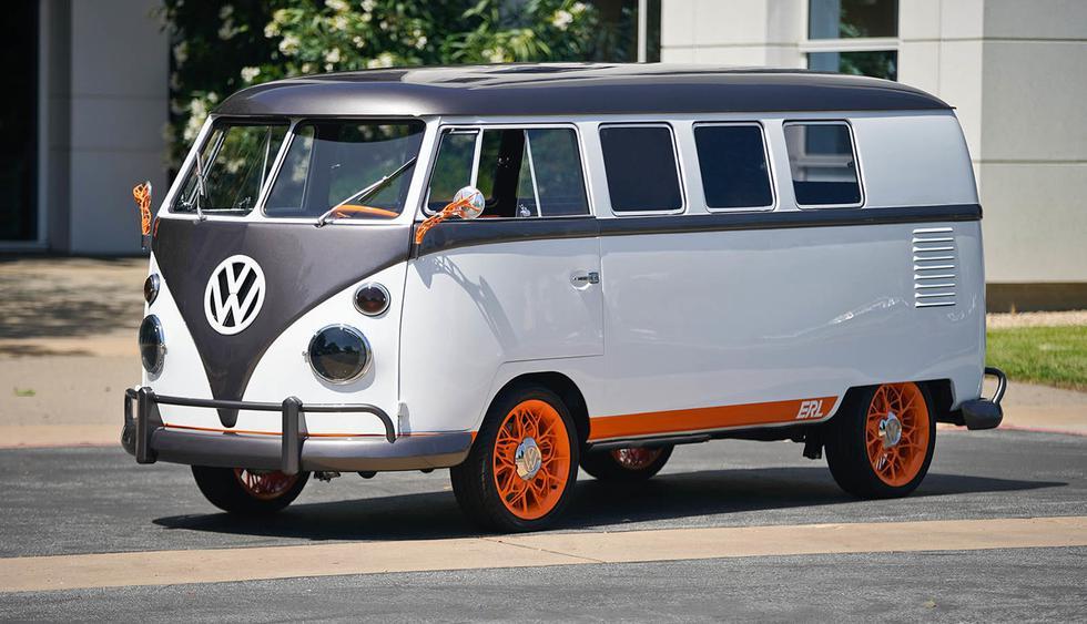 Esta versión futurista del Volkswagen Combi está inspirado en el modelo clásico de 1962. (Fotos: Volkswagen).