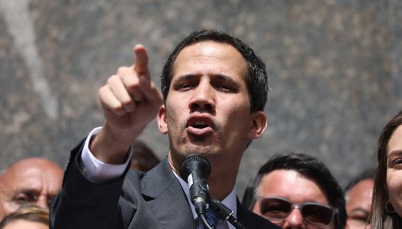 "Juan Guaidó dijo que no irá a un diálogo para mantener a ""violadores de derechos en el poder"". (Foto: EFE)"