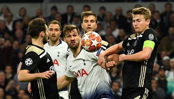 Tottenham vs. Ajax EN VIVO EN DIRECTO: juegan por la ida de las semifinales de la Champions League. (Foto: Reuters)