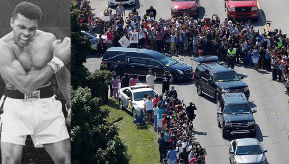Muhammad Ali: Así fue el funeral del histórico boxeador [VIDEO]