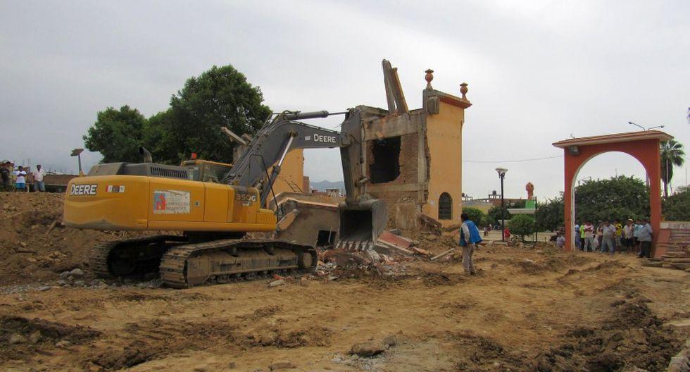 Así se terminó de destruir la histórica iglesia de Olmos - 3