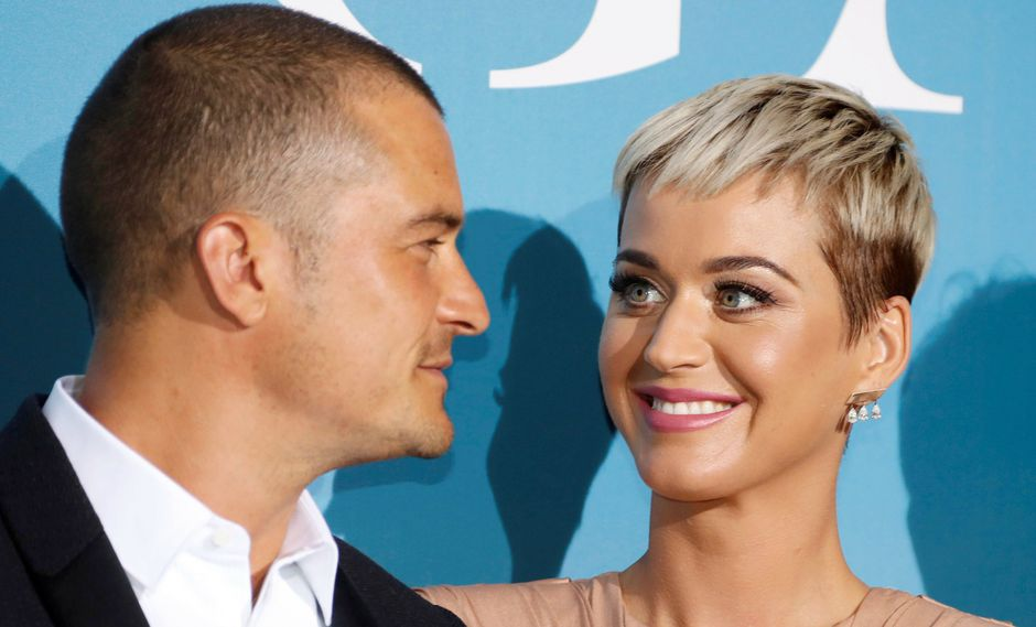Orlando Bloom y Katy Perry (Foto: Reuters)
