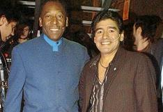 Diego Maradona: El homenaje de Pelé que no llegó a la Casa Rosada para despedir al 'Pelusa'