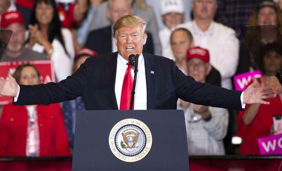 """Donald Trump advierte de que no dejará que las """"malas personas"""" entren en Estados Unidos. (AFP)"""