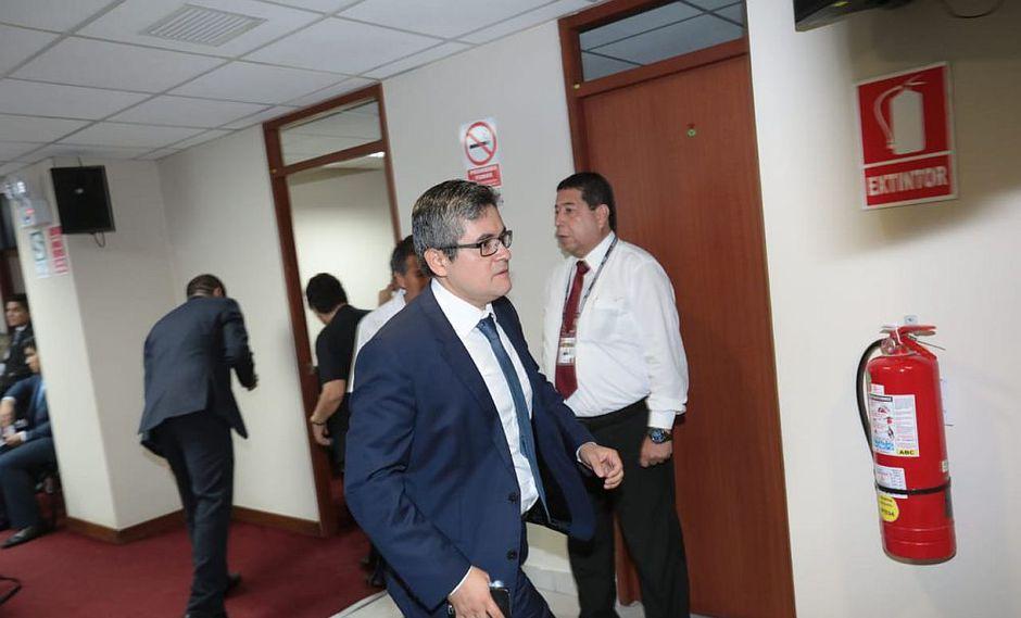 El fiscal Pérez reveló que uno de los fundamentos en los cuales se sostiene el pedido de detención preliminar contra PPK es el pedido para abandonar el país pese a su impedimento de salida. (Foto: Anthony Niño de Guzmán/ GEC)