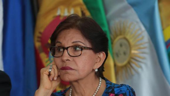 """""""Sí voy a apoyar en todo lo que pueda a mis compañeros que están yendo [a las elecciones]. Sobre todo, como lo hice la vez pasada, a las jóvenes mujeres que estarán"""", dijo   Mercedes Cabanillas a El Comercio.  (Foto: GEC)"""