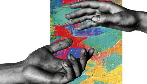 """""""Décadas atrás, Sudáfrica y Chile lograron evitar la violencia política y tener prolongados períodos de estabilidad y progreso gracias a las alianzas que se dieron entre enemigos históricos"""". (Ilustración: Giovanni Tazza)."""