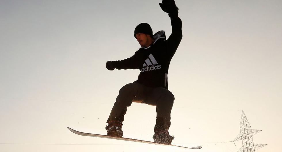 La práctica de este deporte invernal se da en la provincia afgana de Bamian. (Efe)