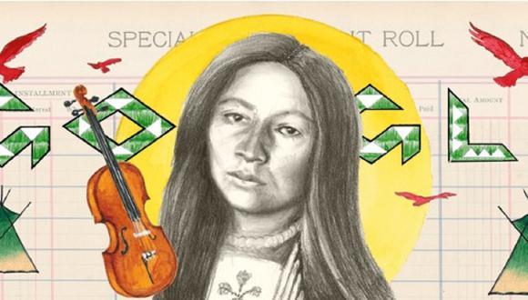 Zitkala-Ša vivió con resiliencia durante una época en la que el gobierno no consideraba personas reales a los pueblos indígenas de los Estados Unidos y mucho menos ciudadanos. (Foto: Google)