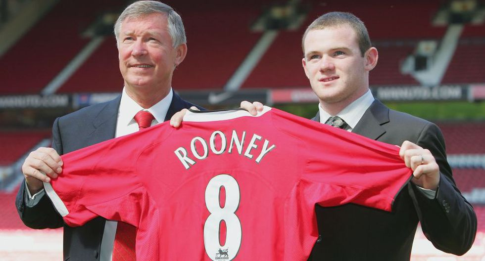Wayne Rooney cumple una década en el Manchester United - 2