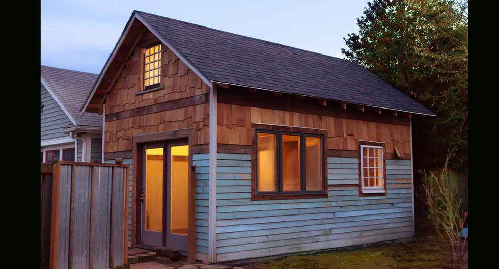 Con solo 32 metros cuadrados, esta casa ubicada  en Portland, Estados Unidos, tiene todo necesario para vivir cómodamente. (Foto: Airbnb)