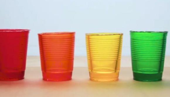 Facebook: aprende a hacer vasos de gelatina para Año Nuevo