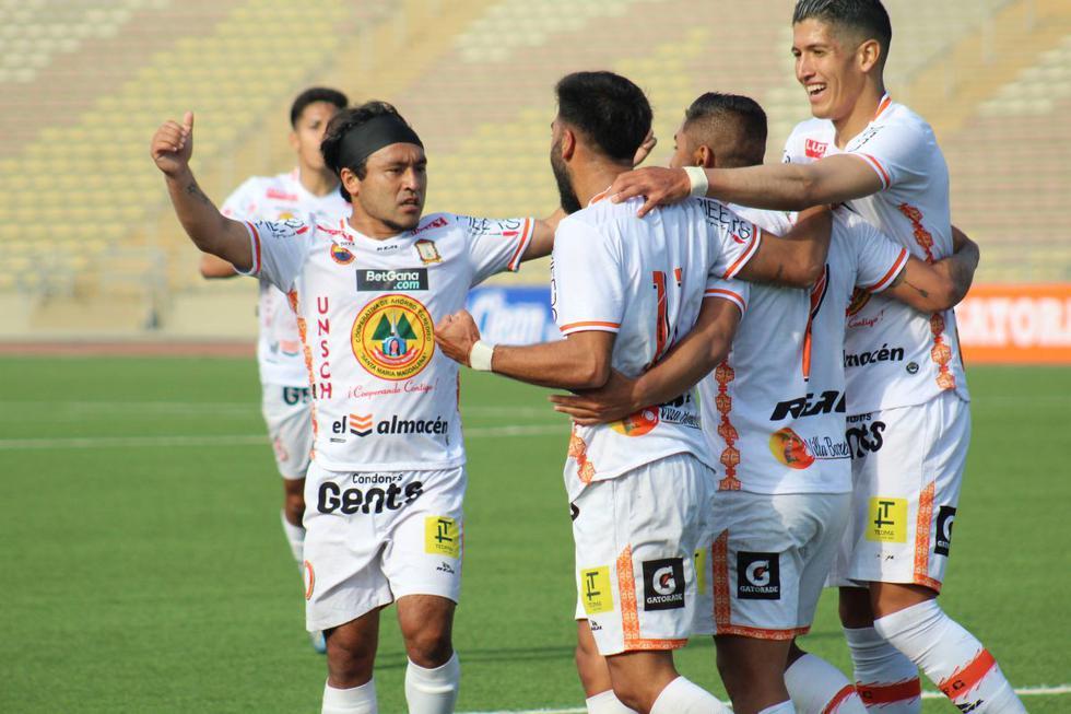 Ayacucho FC se enfrentó a Alianza Lima por la fecha 1 de la Fase 2 de la Liga 1 del 2020 en San Marcos. (Foto: Liga 1)