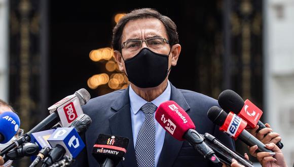 La defensa de Martín Vizcarra intentó postergar la sesión de hoy, pero la presidenta del Congreso no aceptó. (Foto: AFP)
