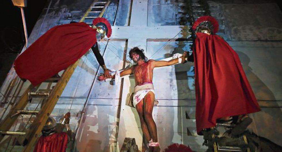 """Reos del penal del Callao escenificaron """"Jesucristo Superstar"""""""