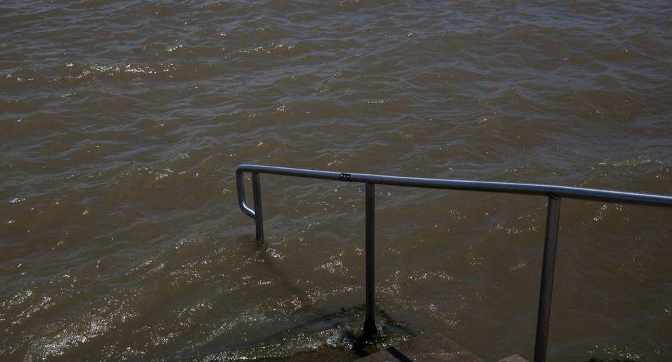 La tormenta tropical Barry amenaza a Nueva Orleans con feroces vientos y lluvias, con los que pondrá a prueba sus represas. (Foto: AFP)