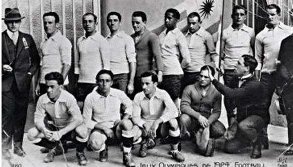 Uruguay, el equipo campeón de los Juegos Olímpicos de 1924. (Foto: Asociación Uruguaya de Fútbol)