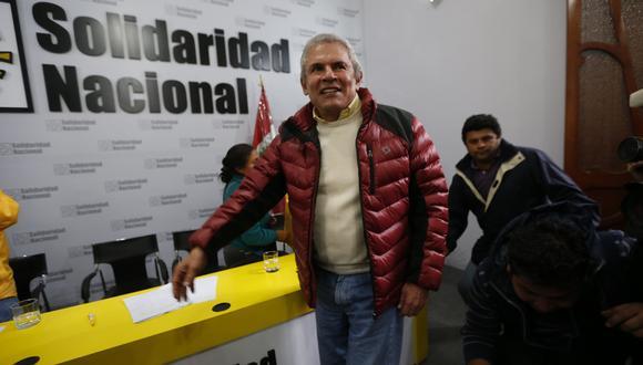 """En el 2014, Luis Castañeda Lossio prometió """"total y absoluta transparencia"""" en cuanto al financiamiento de su campaña. (Foto: GEC)"""