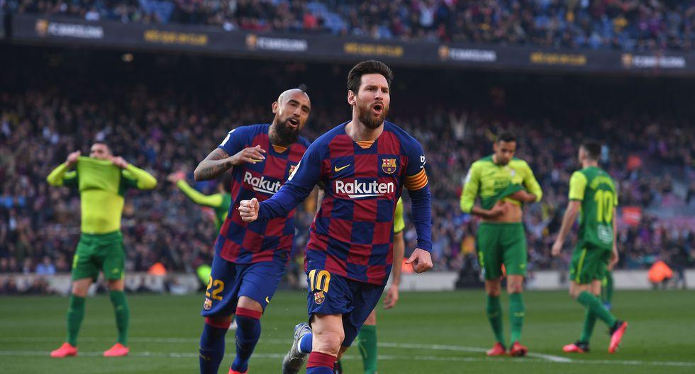 Barcelona vs. Eibar: las postales del partido en el Camp Nou con un Messi deslumbrante. (Foto: Agencias)