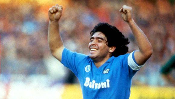 Diego Armando Maradona tendrá un museo frente al estadio del Nápoli. (Foto: @sscnapoliES)