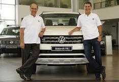 Dakar 2019: Volkswagen entregó Amarok V6 a la dupla Ferrand