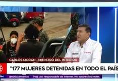 Coronavirus en Perú: 177 mujeres fueron detenidos por no respetar medidas de inmovilización