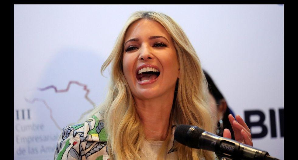 Ivanka Trump se mostró contenta por el logro de Karlie Kloss. (Reuters)