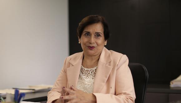 """Ines Tello, presidenta electa de la JNJ, afirmó que buscará """"que la gente pueda recuperar la confianza en el sistema de justicia"""" (Foto: Antonhy Niño de Guzmán/Grupo El Comercio)"""