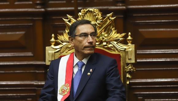 Presidente Vizcarra protagoniza la mayor crisis política desde que inició su gestión (Foto: El Comercio).