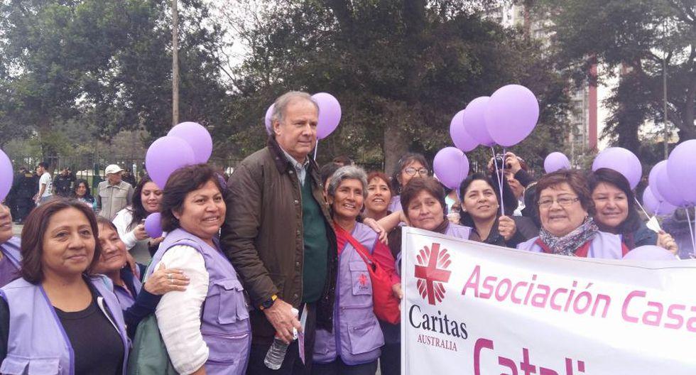 #NiUnaMenos: así se desarrolló la marcha en Lima [FOTOS] - 16