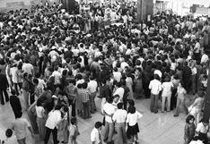 Gran congestión en el aeropuerto Jorge Chávez