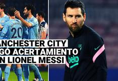 Manchester City negó acercamiento con Lionel Messi para ficharlo