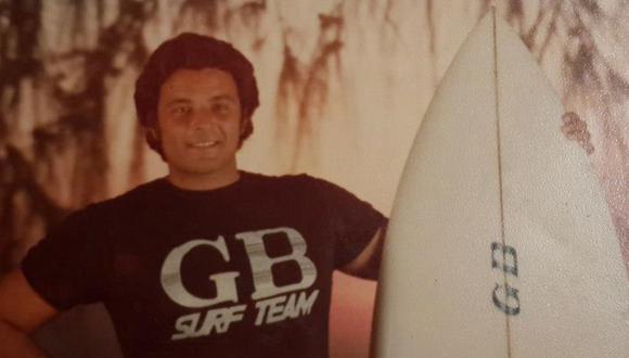 Sergio Barreda, surfista nacional. (Foto: Archivo personal Sergio Barreda)