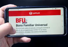 CONSULTA Segundo Bono Universal: cronograma completo y LINK OFICIAL para saber si eres beneficiario BFU
