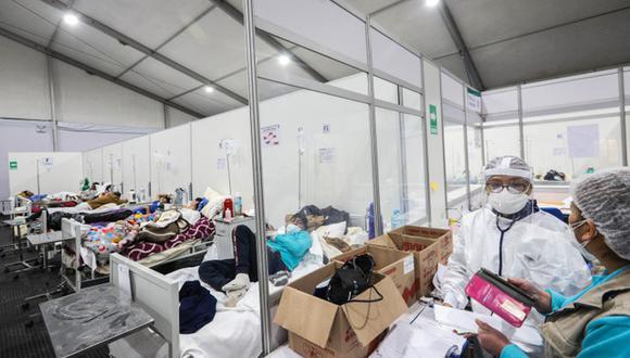 Los hospitales en Cusco lucen abarrotados de personas. Muchas de ellas se han contagiado en las últimas semanas.